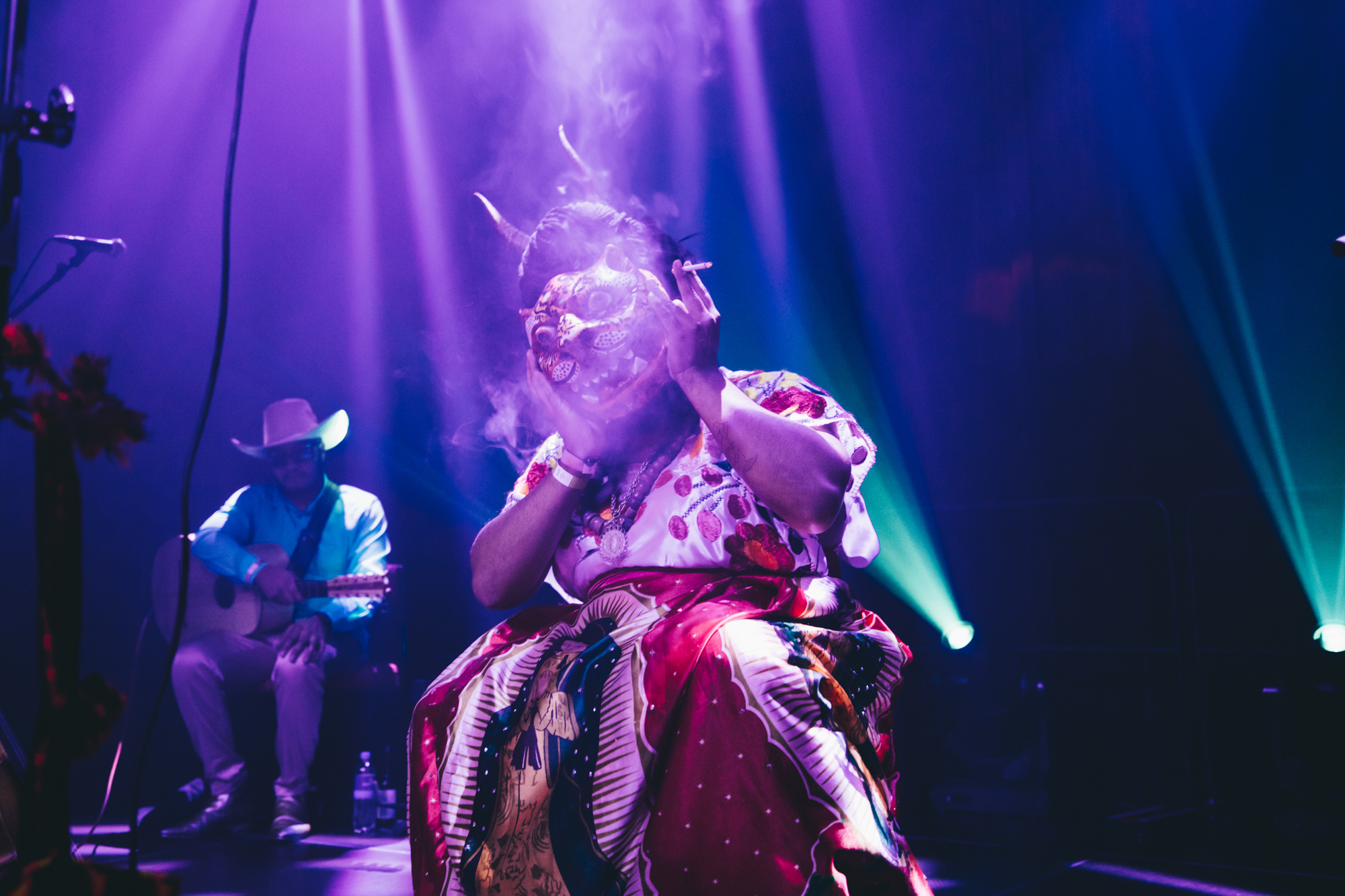 Photo series: the transformative experience of La Bruja de Texcoco at LGW19, captured by Melanie Marsman
