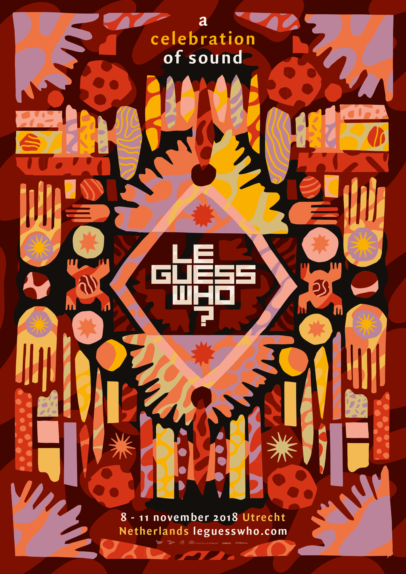 Revealing the curators & initial line-up for Le Guess Who? 2018