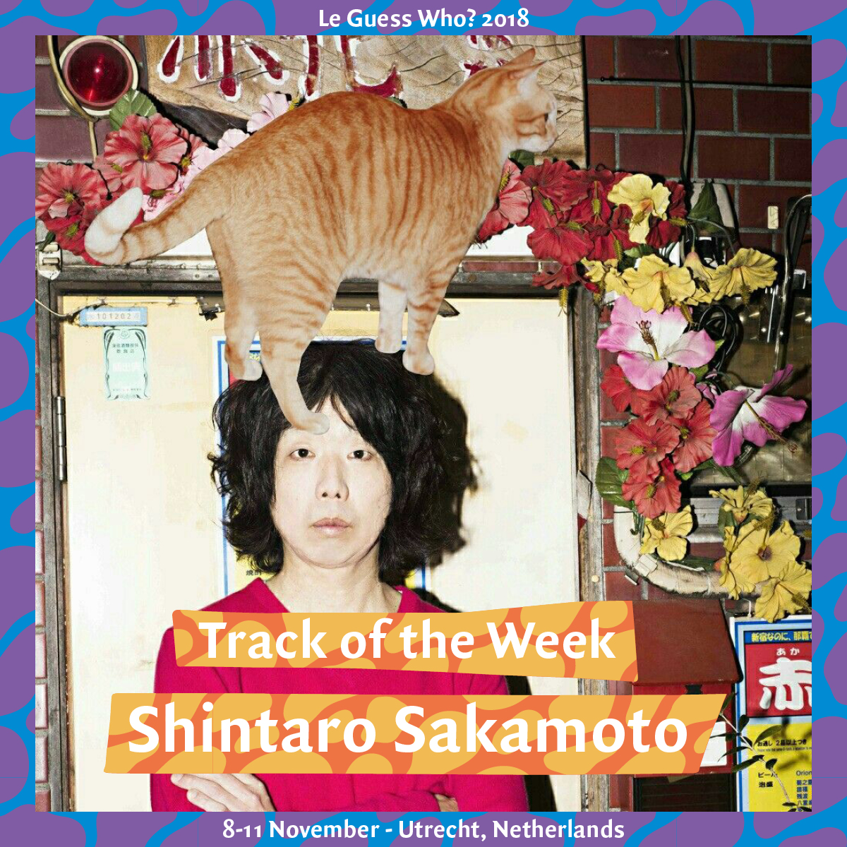 Track of the Week #13: Shintaro Sakamoto - 'Let's Dance Raw'