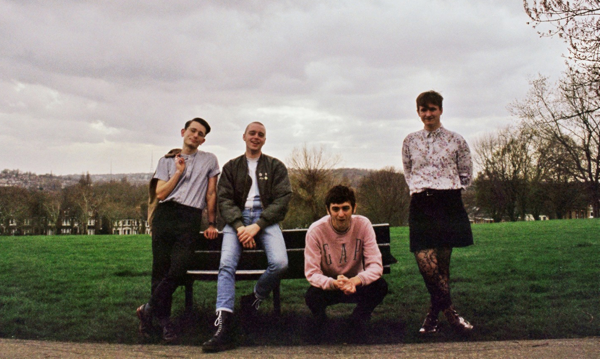 South London post-punk four-piece Italia 90 release new song 'Road To Hell'