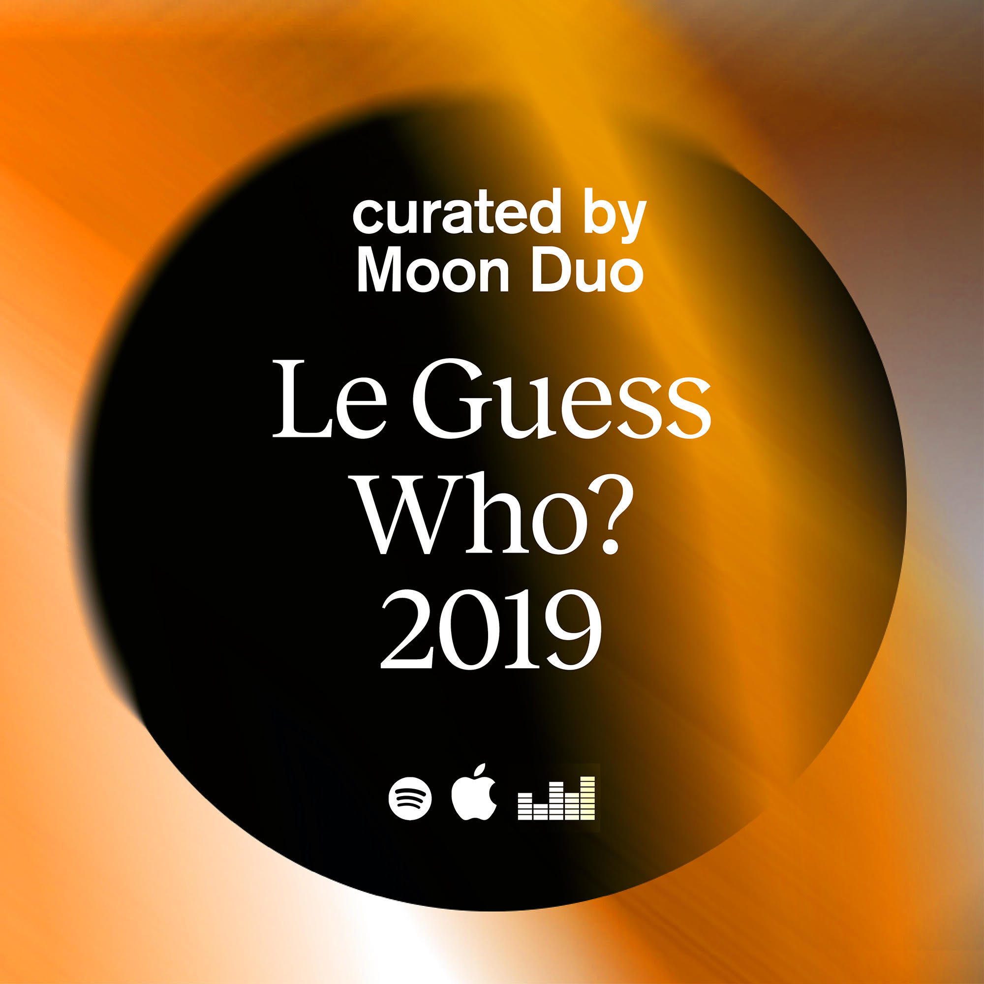Listen to Moon Duo's personal playlist for their curation at Le Guess Who? 2019