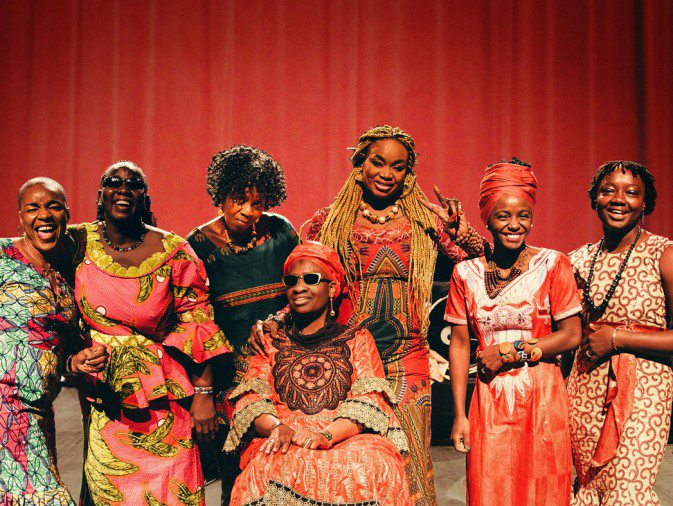 Listen to 'République Amazone', the new album from Les Amazones d'Afrique