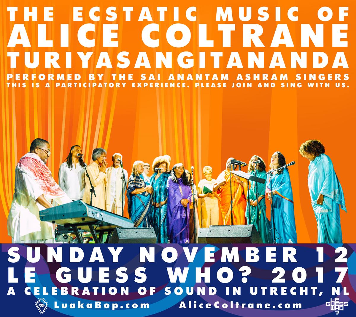 Honoring the life & work of Alice Coltrane with a participatory experience at LGW17