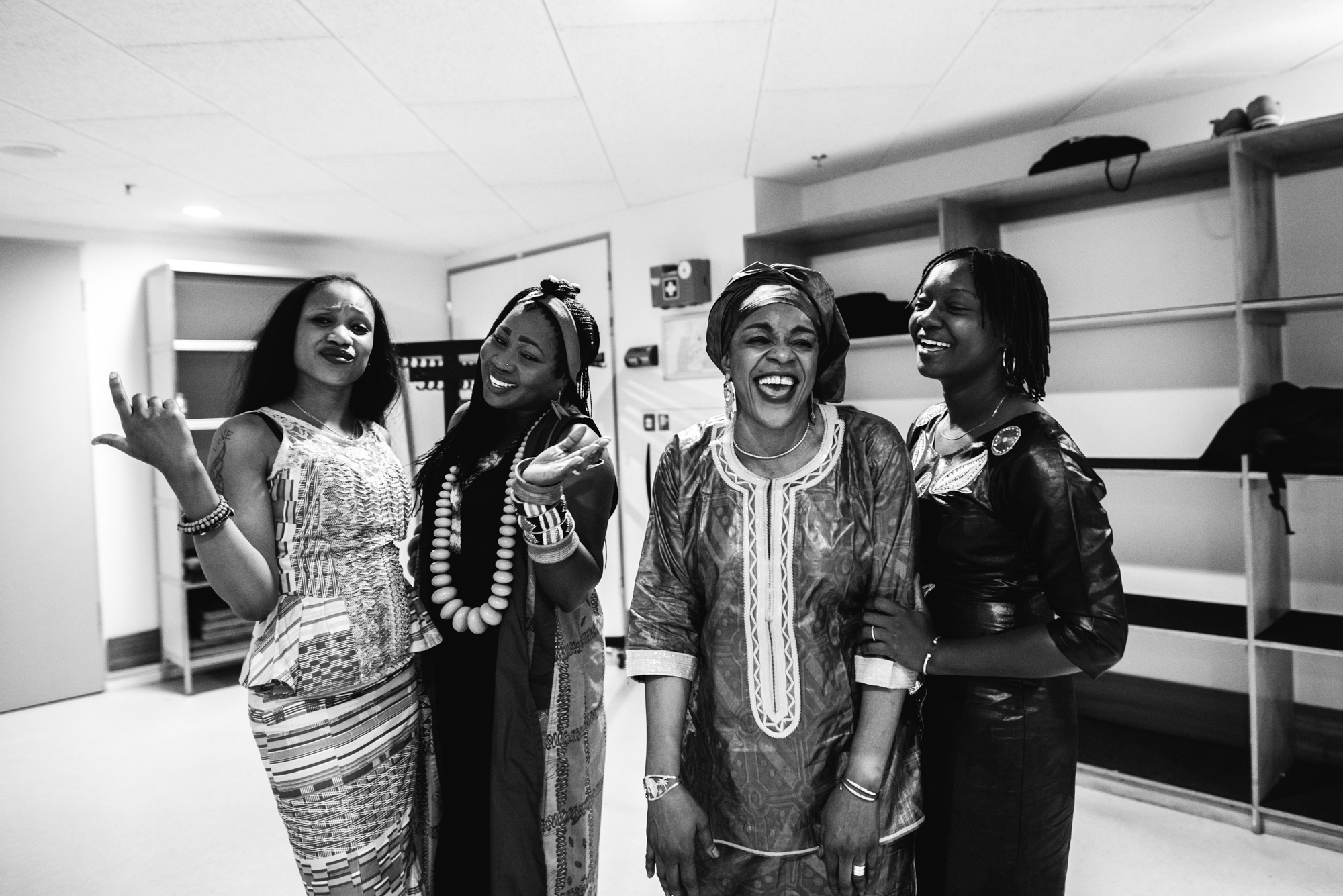 OkayAfrica premieres Les Amazones d'Afrique's life-affirming set at LGW17
