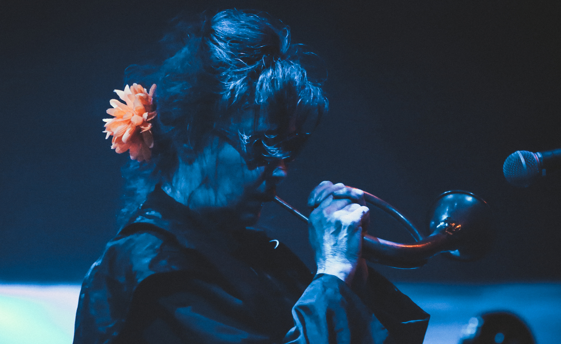 Read: A side-by-side interview with Perfume Genius & Mary Margaret O'Hara, backstage at LGW17