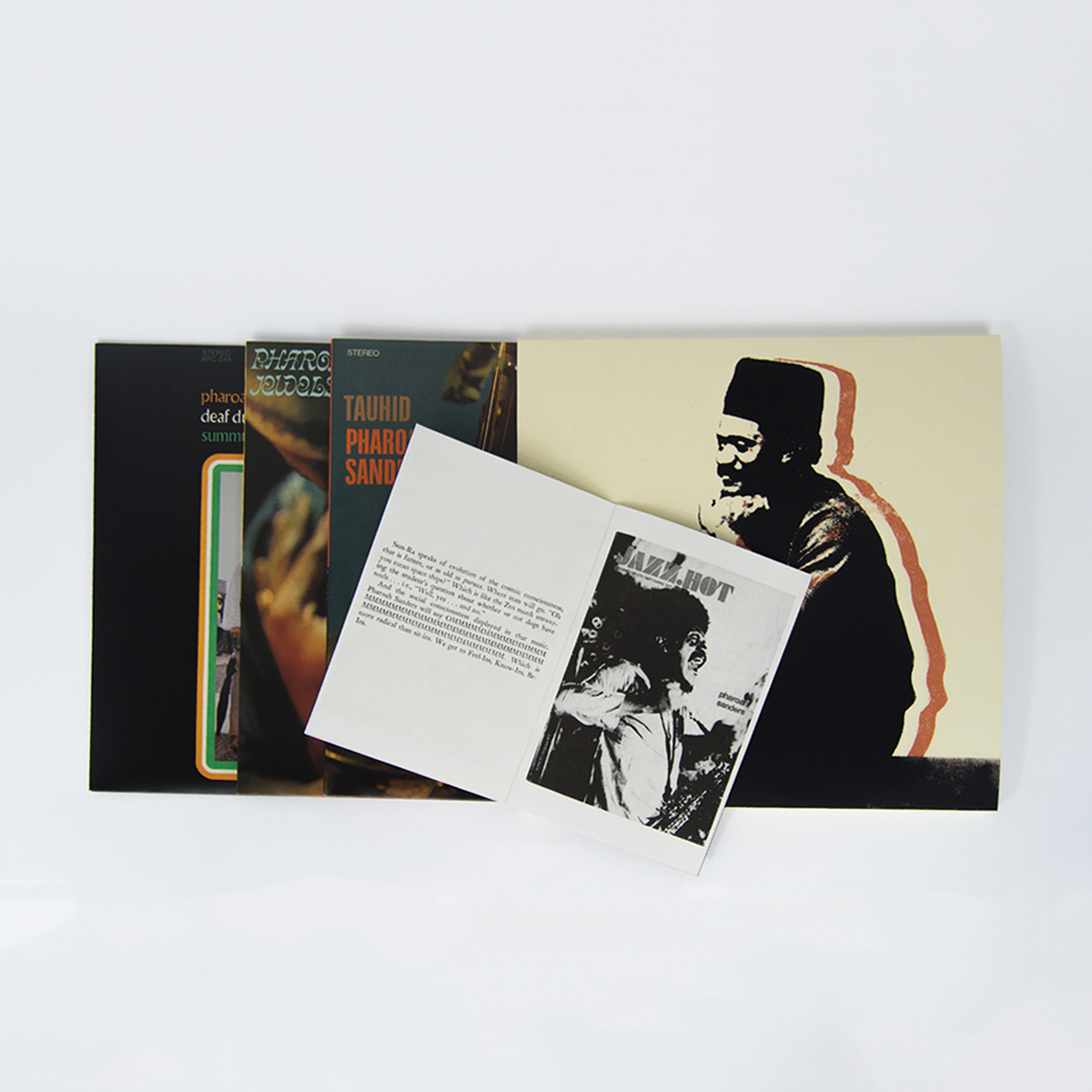 3 Pharoah Sanders LP reissues coming November 10